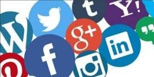 social media en valencia - iconos