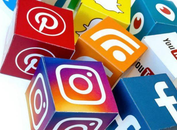 redes sociales - cubos