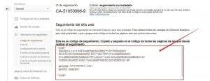 google analytics - codigo