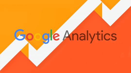 Google analytics - naranja