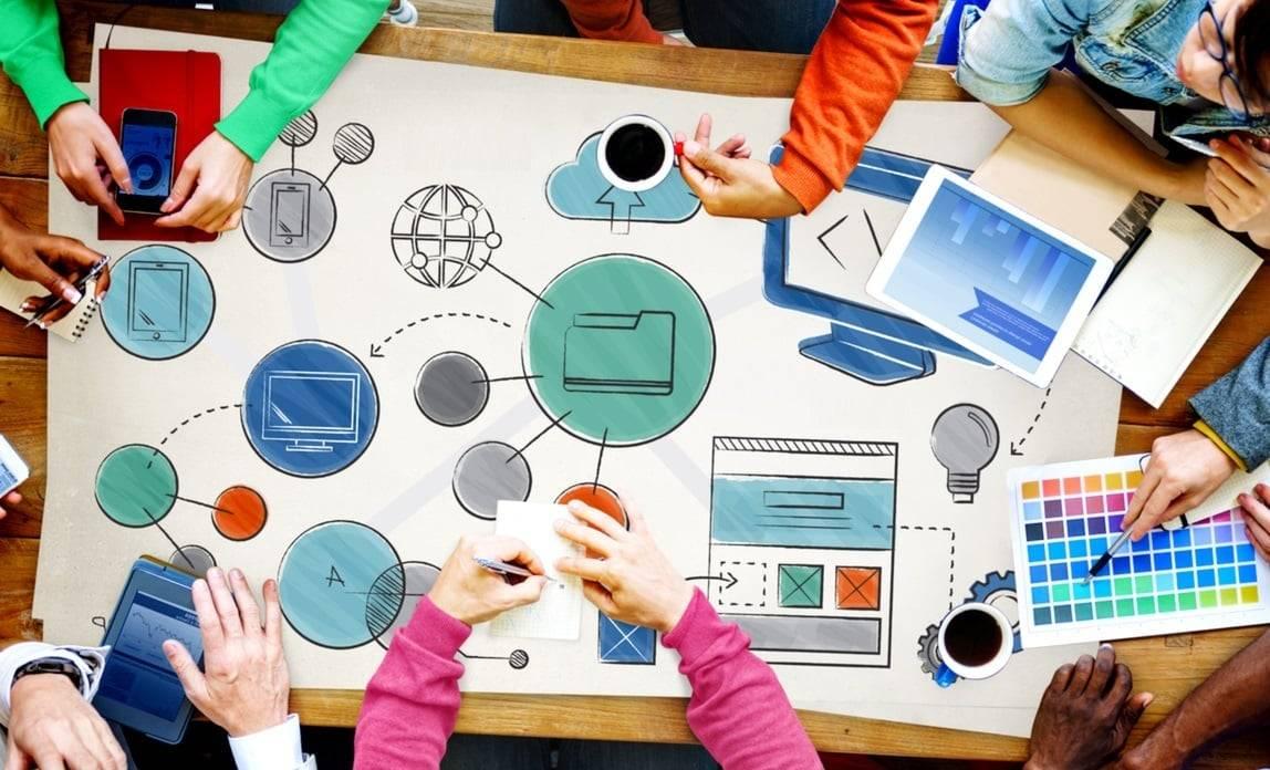 diseño web en Valencia - plano de la web