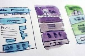 Diseño web en valencia - bocetos