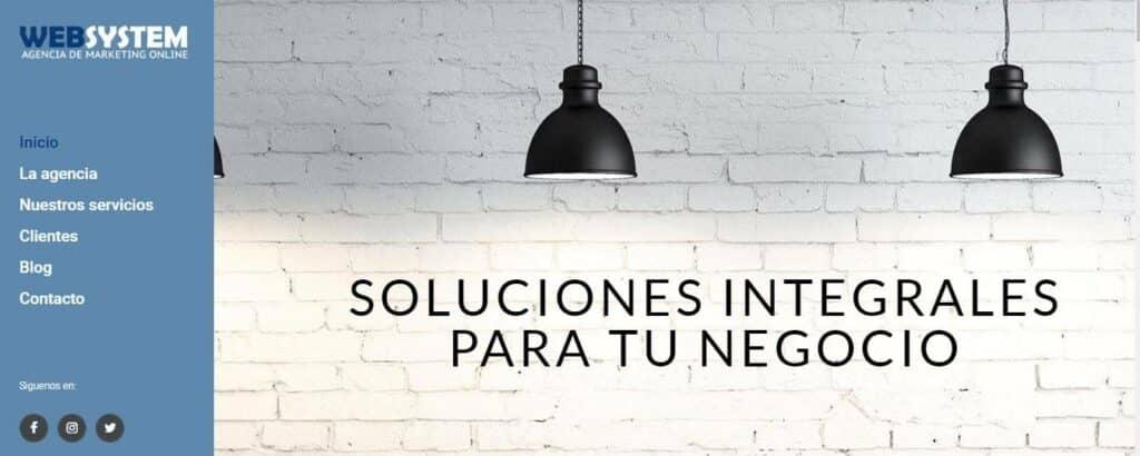 agencia de marketing en valencia - websystem