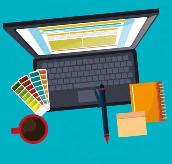 diseño web en valencia - portatil