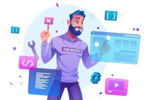 Diseño web - hombre